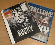 Rocky Blu-Ray NEW disk/case/cover/SLIP/limited edition poster Stallone 2015