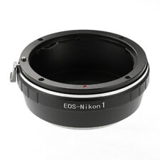 For Canon EOS EF EF-S Mount Lens to Nikon 1 J4 J5 V3 V5 Camera Body Adapter Ring
