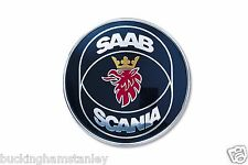Saab 9-5 wagon boot badge emblème neuf genuine part 1998-2001