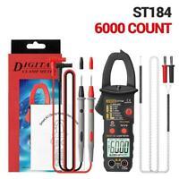 Counts Digital Professional Multimeter Clamp Meter Voltage Tester True Rms Z8R4