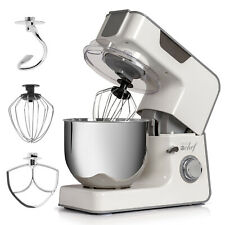 Deco Chef 5.5 Qt Kitchen Stand Mixer, 550W 8-Speed Motor, w/ Mixing Attachments