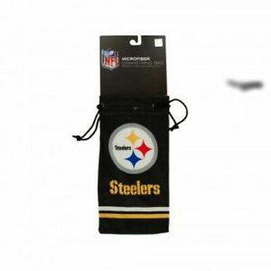 NFL Football Team Logo Sunglasses or Eyeglass Microfiber Drawstring Carry Bag