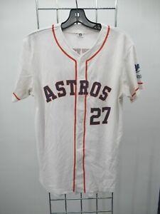 H2361 Houston Astros Altuve 27 MBL-Baseball Jersey Size XL