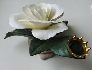 "Boehm Princess Diana ""England's Rose"" Limited Edition Flower Sculpture F442"