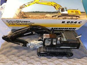 Conrad Liebherr R 954 Bagger Abbruchbagger Modell OVP 1:50 *Black Edition*