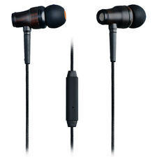 ESMOOTH Wood Wired Earbuds In-ear Headphones Noise-isolating Earphones w/Mic&C