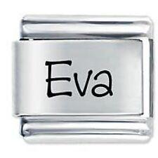 EVA Name - Daisy Charm by JSC Fits Classic Size Italian Charms Bracelet