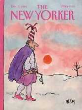 New Yorker COVER 12/31/1984 - New Year Party Goer - STEIG
