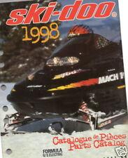 1998 SKI-DOO FORMULA S/S  SNOWMOBILE PARTS MANUAL