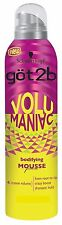 6 X Schwarzkopf got2b VolumeManiac Bodifying Mousse 250ml