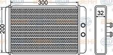8FH 351 308-261 HELLA Heat Exchanger  interior heating