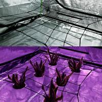 VIVOSUN Flexible Net Trellis Plant Support for Grow Tent 4'x4' 2'x4' 5'x5' 3x3'