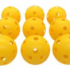 4* 72mm Plastic Airflow Golf Balls Outdoor Pickleballs Whiffle Ball Floorball S3