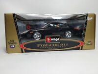 Die Cast 1:18 Scale Burago Porsche 911 Carrera  Model / 1997