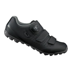 Shimano ME4 SPD Enduro Trail MTB Cycling Shoes Boa Black SH-ME400W - 41 (US 8)