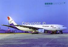 Tristar Air Cargo Airbus A300B4 SU-BMZ at Brno Czeck Republic Aviation Postcard
