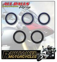 Yamaha YZ250 F 4T 2012 All Balls Rear Wheel Bearing & Seal Kit 8631405