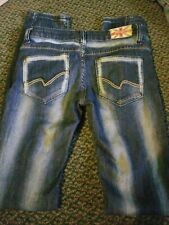 Machine Destroyed Skinny Jeans Size 26 Actual  26 X 31