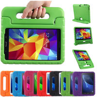 7 8 10.1 inch Kids Shock Proof Case for Samsung Galaxy Tab 4 Tablet Back Cover