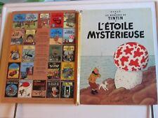 "Tintin ""L'étoile mystérieuse"" Casterman 1966/0053/151 BE"