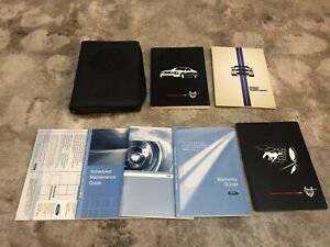 2009 Ford Mustang Shelby GT500 Owners Manual With Case OEM Free Shipping