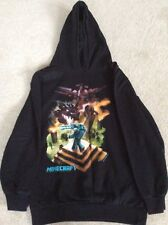 Kids Minecraft Hoodie Sweatshirt Age 10 / 11