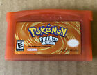 Pokemon FireRed Version Game boy Advance GBA