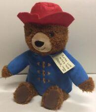 "Paddington Bear 14"" Plush Kohls Cares Please Look After This Bear Thank You"