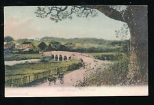 Hants Hampshire NEW FOREST Boldre Bridge c1900s PPC by F G O Stuart