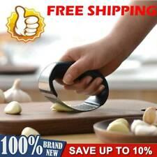 Stainless Steel Manual Garlic Press Crusher Squeezer Masher Kitchen Tools HOT