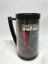 Vintage 1973 Super Bowl Thermo Serv Mug Football Miami Dolphins Redskins NFL