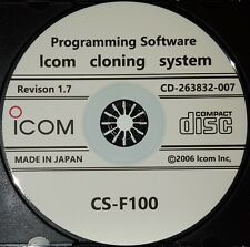 Icom CS-F100 Programming for IC-F110/IC-F111/IC-F121/IC-F210/IC-F211/ IC-F221