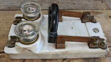 Vintage Speciality Porcelain Knife Switch Electrical Breaker Switch Frankenstein
