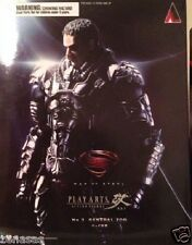 New Square Enix Man Of Steel Play Arts Kai Joe El Pre-Painted