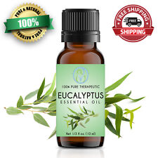 Eucalyptus Essential Oil 10 ml 100% Pure & Natural Therapeutic Grade