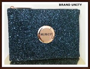 Mimco Sparks Fly Medium  BNWT  RRP $99.95 Leather Navy Rosegold  Free post
