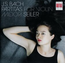 J.S. BACH : PARTITAS FOR VIOLIN - MIDORI SEILER / CD - TOP-ZUSTAND