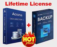 Acronis Disk Director 12 & Acronis True Image (boot) | Lifetime License Key