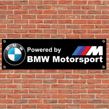 BMW M Motorsport Sport Car Track Racing Sign Garage Workshop Banner Display B