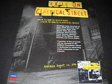 Exile On Classical St. 1996 Promo Ad Bono Keith Richards Elton John Steven Tyler