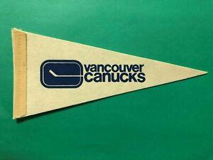 1969 NHL VANCOUVER CANUCKS MINI PENNANT TERRIFIC CONDITION