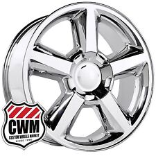 20 inch OE Performance 131C Chevy Tahoe LTZ Wheels Chrome Rims 6 lug fit Chevy