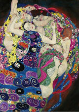 Gustav Klimt The Maiden (VirGin) 1000 pcs Jigsaw puzzles TOMAX Art Vintage Decor
