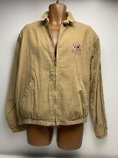 Vintage Chalk Line Tan Corduroy San Francisco 49ers Jacket Men's Size Large