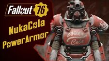Fallout 76 (PC) T-51b Power Armor with Nuka Cola Paint [MAX LEVEL]