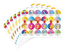 ADESIVI Premio di scrittura - 30 mm, brillante e colorato design, ideale per gli insegnanti