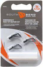 Fishing Rod Tips Rod Repair Kit 3 Tip Sizes & Quick Set Glue Easy Pole Fix SBTRG