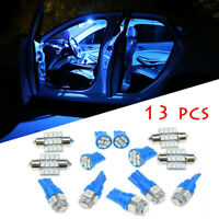 Universal Car Interior LED Light Package Kit Dome License Plate Lamp Accessories