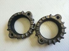 OEM pr exhaust flange clamps from 1976 KAWASAKI KZ400 motorcycle