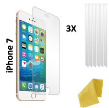 3 x Clear Plastic Screen Guard LCD Protector Film Layer - Apple iPhone 7